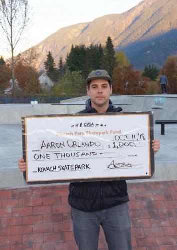 1000 cheque