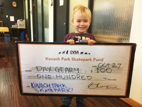 donor dax geery