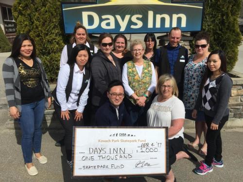 donor days inn
